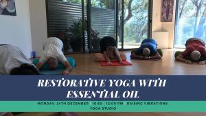 Restorative Yoga with Essential Oil (1)